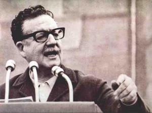 Saslvador Allende en La Moneda