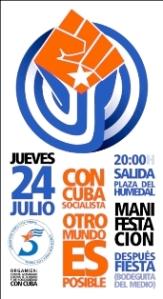 Con Cuba socialista otro mundo es posible