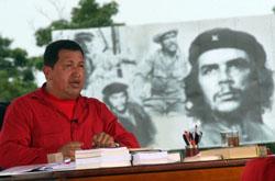 Hugo Cháevez en su Aló Presidente desde Cuba