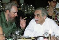 Fidel Castro y el Gabo en su encuentro en el 2000