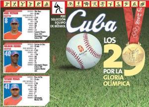 Preselección cubana de béisbol