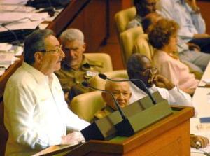 Raúl Castro, presidente de los Consejos de Estado y de Ministros de Cuba