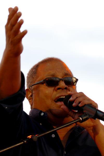 Pablo Milanés en concierto en La Habana