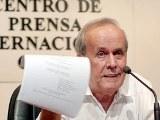 Ricardo Alarcón, presidente del Parlamento cubano