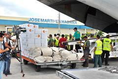 La ayuda llegó procedente de Panamá