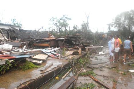 Miles de personas perdieron sus viviendas tras el paso de Gustav por Cuba
