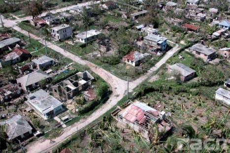 Las mayores afectaciones de localizan en los territorios de Holguin, Las Tunas, Camagüey, la Isla de la Juventud y Pinar del Rio.