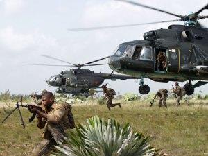 Los helicopteros tuvieron una