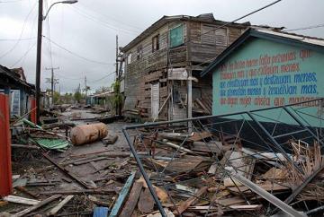 Decenas de viviendas quedaron totalmente destruidas