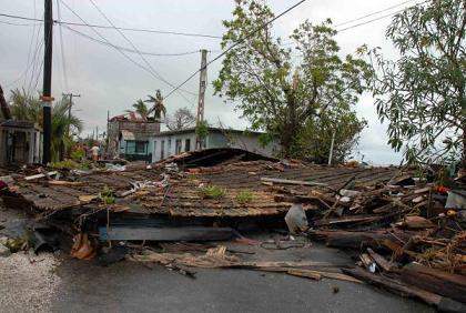 La afectación en vivienda es evaluada por las autoridades cubanas