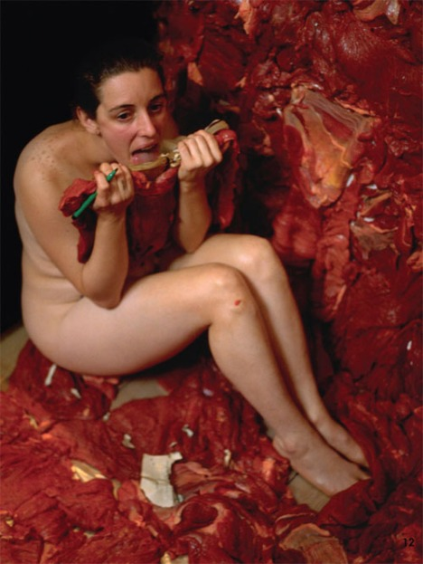 Tania Bruguera al desnudo