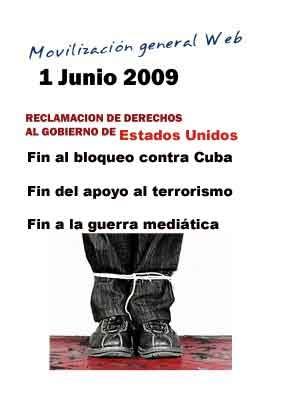 Movilización Web en Cuba