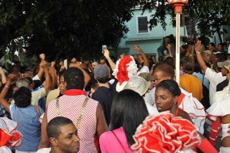 Repudio a manifestación contrarrevolucionaria en La Habana