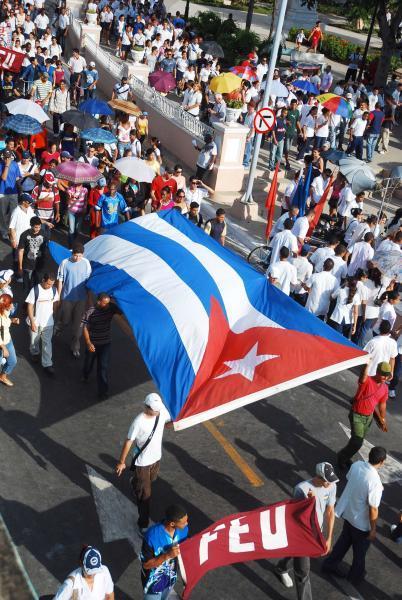 Las calles en Cuba son de los jóvenes