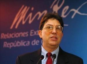 Canciller cubano Bruno Rodríguez