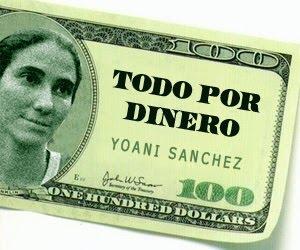 Yoani Sánchez tiene una cuenta bancaria superior a los 100 000 dólares