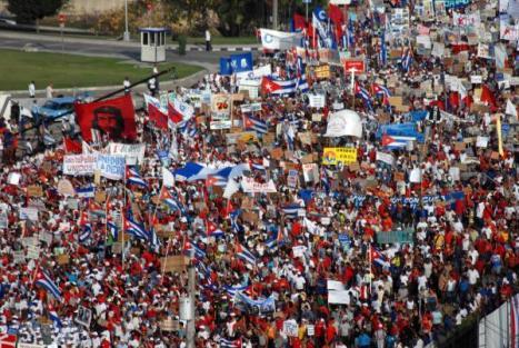 Cuba es y será eternamente revolucionaria. Su pueblo lo demostró hoy en este Primero de Mayo