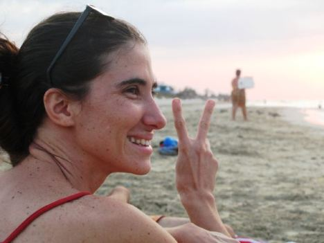 Yoani Sánchez,  de vacaciones permanentes en Cuba.
