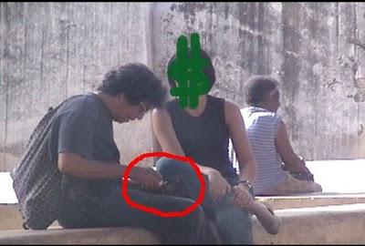 Reinaldo Escobar en La Habana, en una salida sin Yoani Sánchez