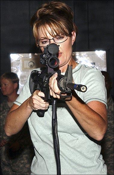 Congresita Sarah Palin,  líder del Tea Party.