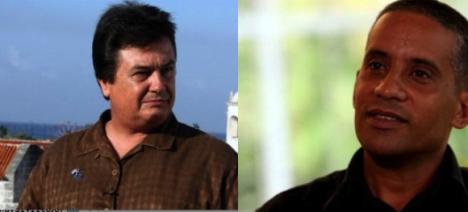 Agentes cubanos Moisés Rodríguez y Carlos Serpa